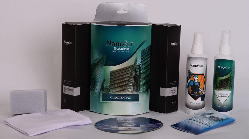 پک محافظ نانو شیشه ساختمان
