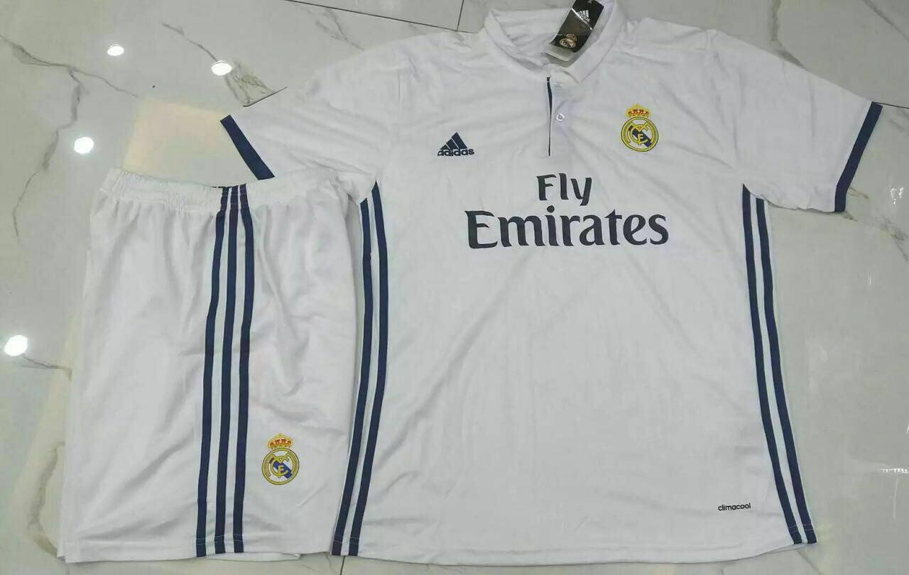 پیراهن و شورت اول رئال مادرید