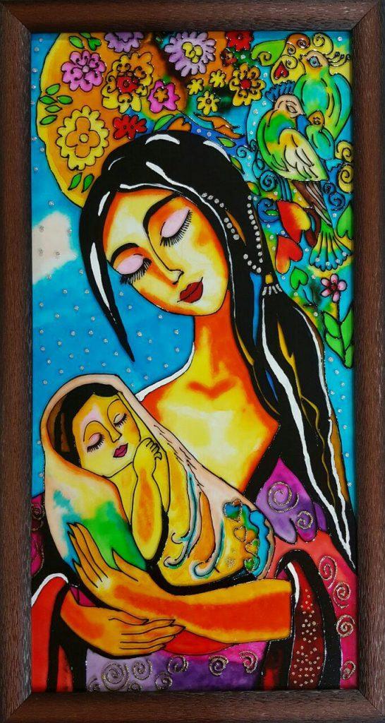 تابلو ویترای - طرح مادر